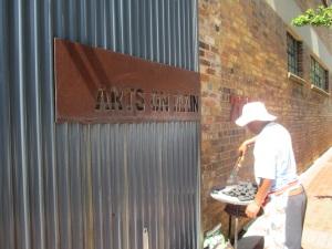 """Der Eingang zum """"Arts on Main"""""""